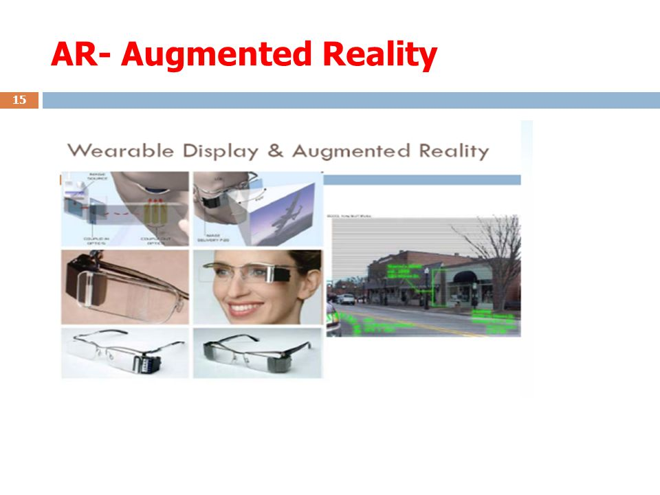 AR- Augmented Reality 15