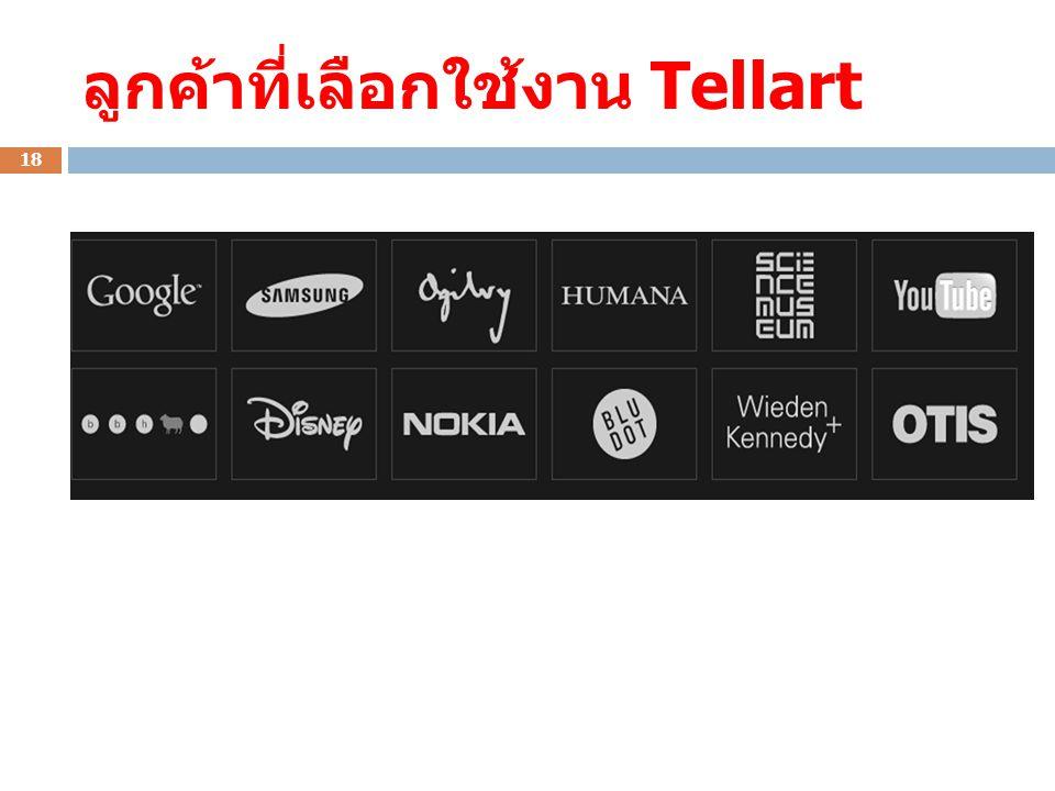 ลูกค้าที่เลือกใช้งาน Tellart 18