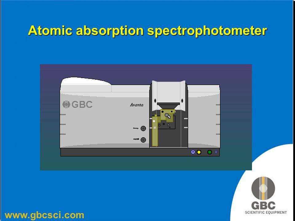 www.gbcsci.com Atomic absorption spectrophotometer