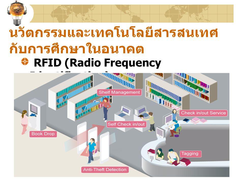 นวัตกรรมและเทคโนโลยีสารสนเทศ กับการศึกษาในอนาคต RFID (Radio Frequency Identification)