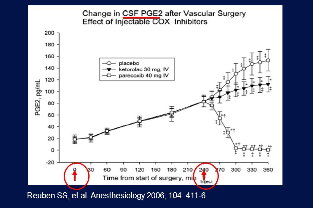 40 Revision 10, 10-26-01 Reuben SS, et al. Anesthesiology 2006; 104: 411-6.