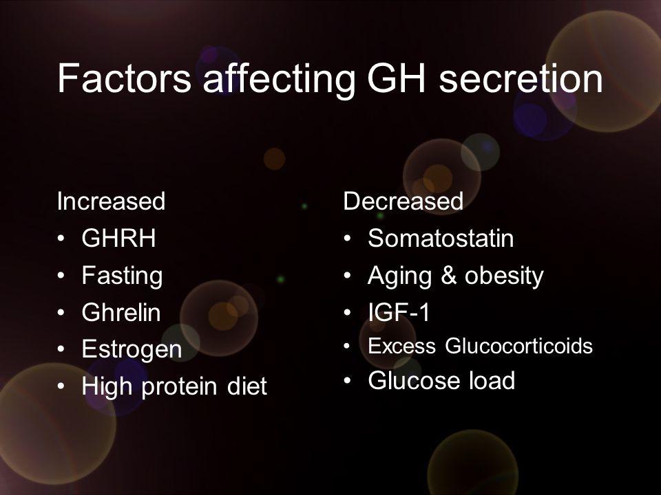 Dopamine agonist Bromocriptine ใช้ high dose >20mg/d เพื่อกด GH ได้ผล normalize IGF-1 แค่ 10%  poor efficacy โอกาสได้ผลเพิ่มถ้ามี Co-secretion of PRL Combine กับ Octreotide  additive benefit Newer Generation = Carbergolide Additive with Somatostatin