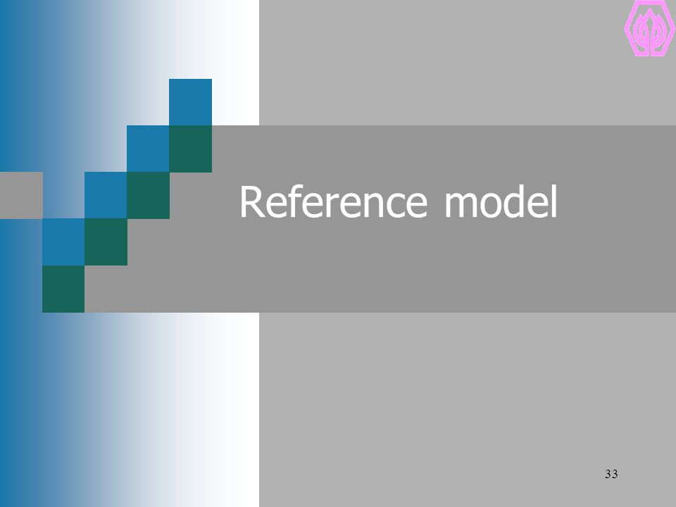 33 Reference model