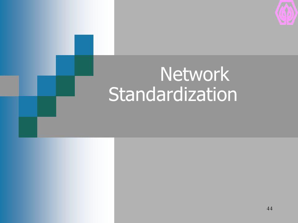 44 Network Standardization