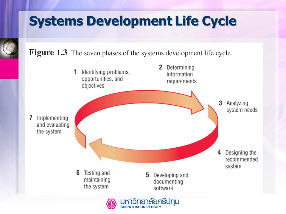 21 Aug-14 Systems Development Life Cycle