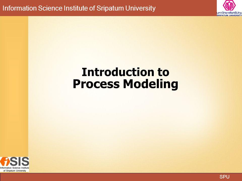 SPU Information Science Institute of Sripatum University chatuphon Phobun:Lecturer5 ชนิดของแบบจำลอง (Types of Models) แบบจำลองทางคณิตศาสตร์ (Mathematical Models) แบบจำลองทางคณิตศาสตร์ (Mathematical Models) แบบจำลองที่เป็นถ้อยคำอธิบาย (Descriptive Models) แบบจำลองที่เป็นถ้อยคำอธิบาย (Descriptive Models) แบบจำลองแผนภาพ (Graphical Models) แบบจำลองแผนภาพ (Graphical Models)
