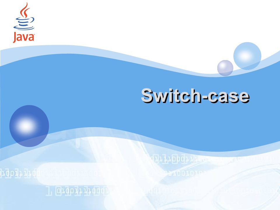 LOGO Switch-case