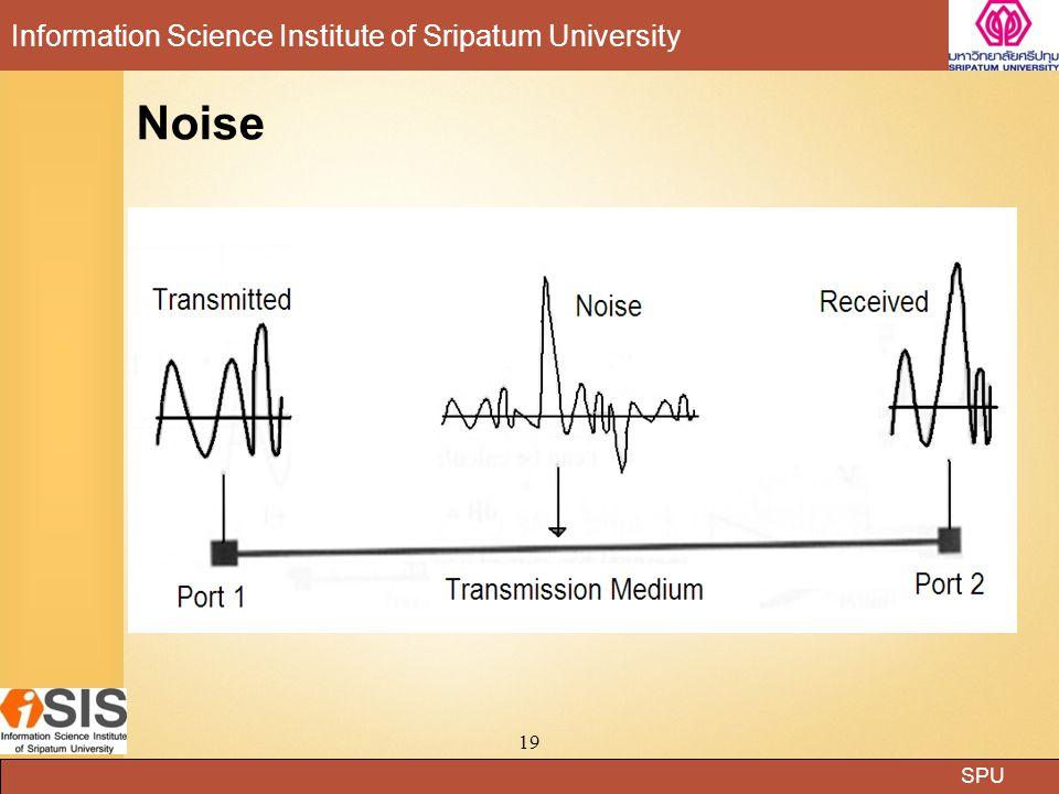SPU Information Science Institute of Sripatum University 19 Noise