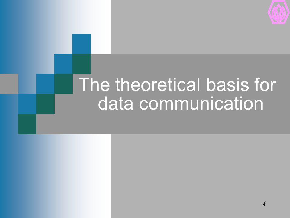 SPU Information Science Institute of Sripatum University 5 Transform information to signals Data Communication Information Transmission