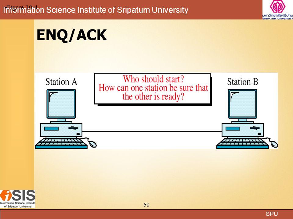 SPU Information Science Institute of Sripatum University 68 ENQ/ACK Figure 10-4