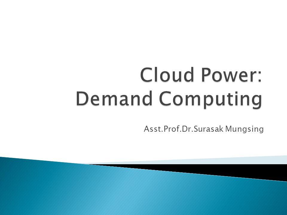 Asst.Prof.Dr.Surasak Mungsing