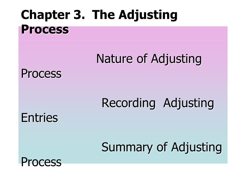 Chapter 4.Completing the Accounting Cycle Closing Entries Accounting Cycle Fiscal Year Chapter 5.
