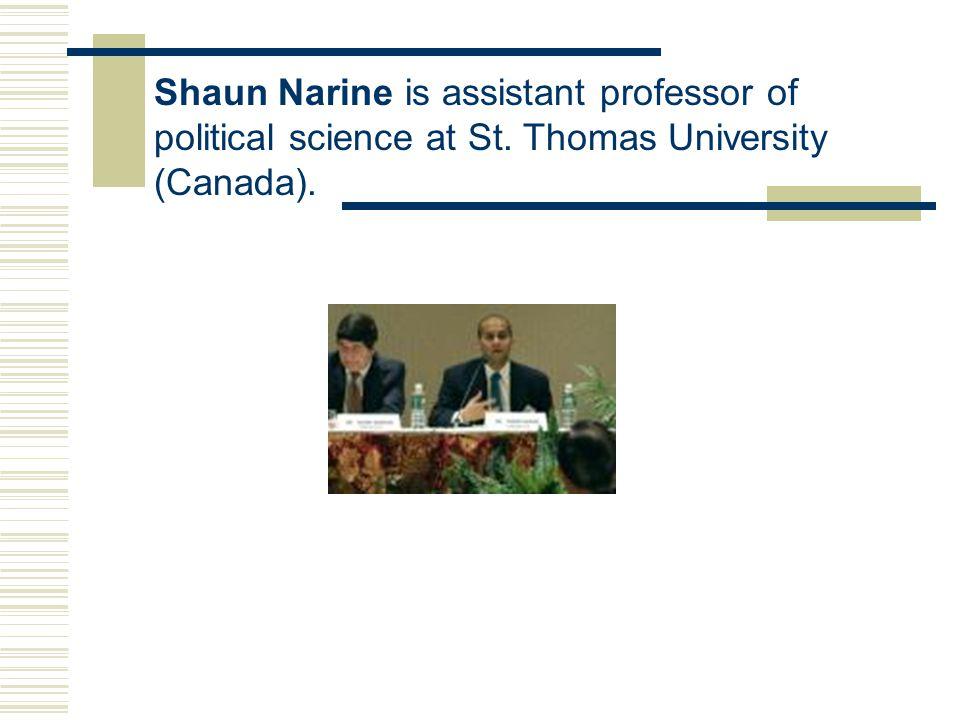 Explaining ASEAN REGIONALISM IN SOUTHEAST ASIA by Shaun Narine บรรยายโดย อาจารย์กุสุมา ถาวร