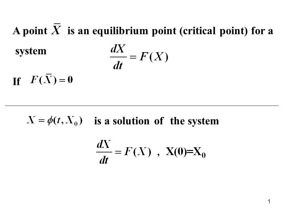 (ii) a<0 จุดสมดุล (0,0) เรียกว่า spiral sink (iii) a=0 จุดสมดุล (0,0) เรียกว่า stable center 12