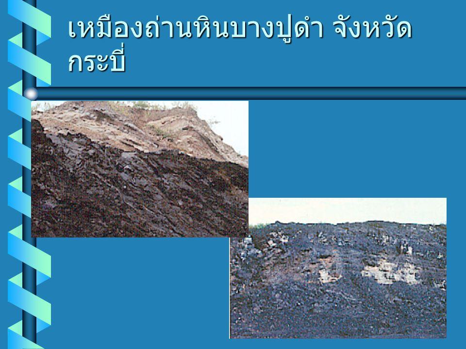 เหมืองถ่านหินบางปูดำ จังหวัด กระบี่