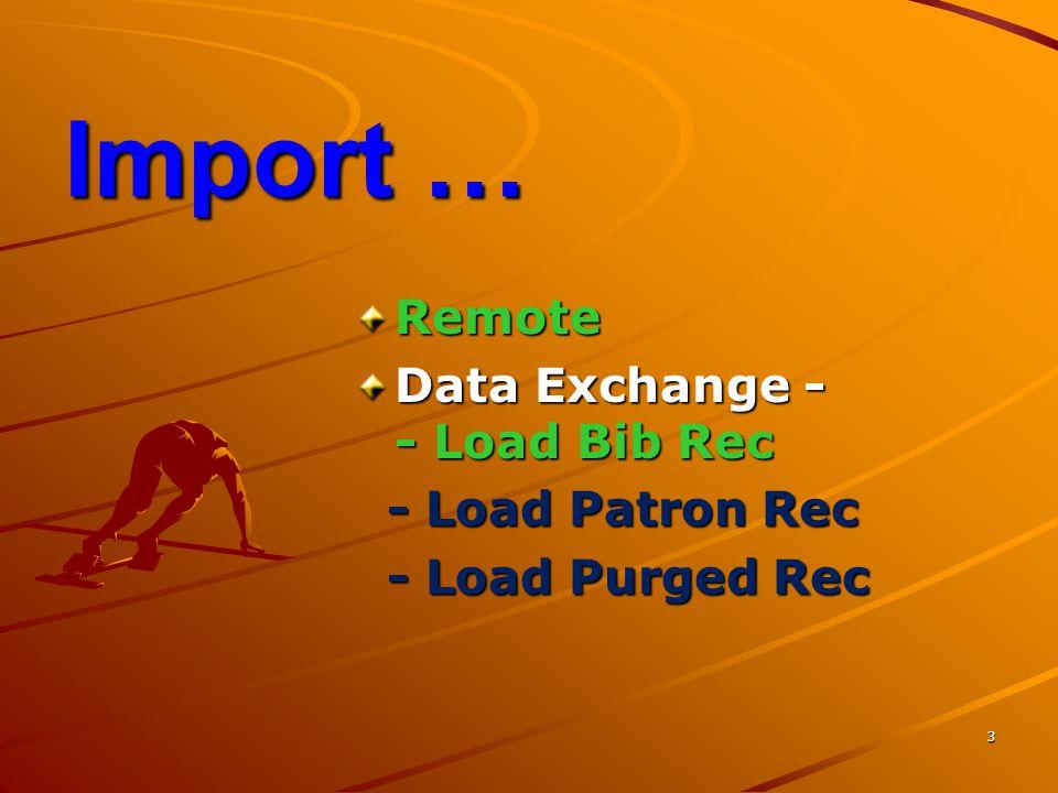 4 Export...