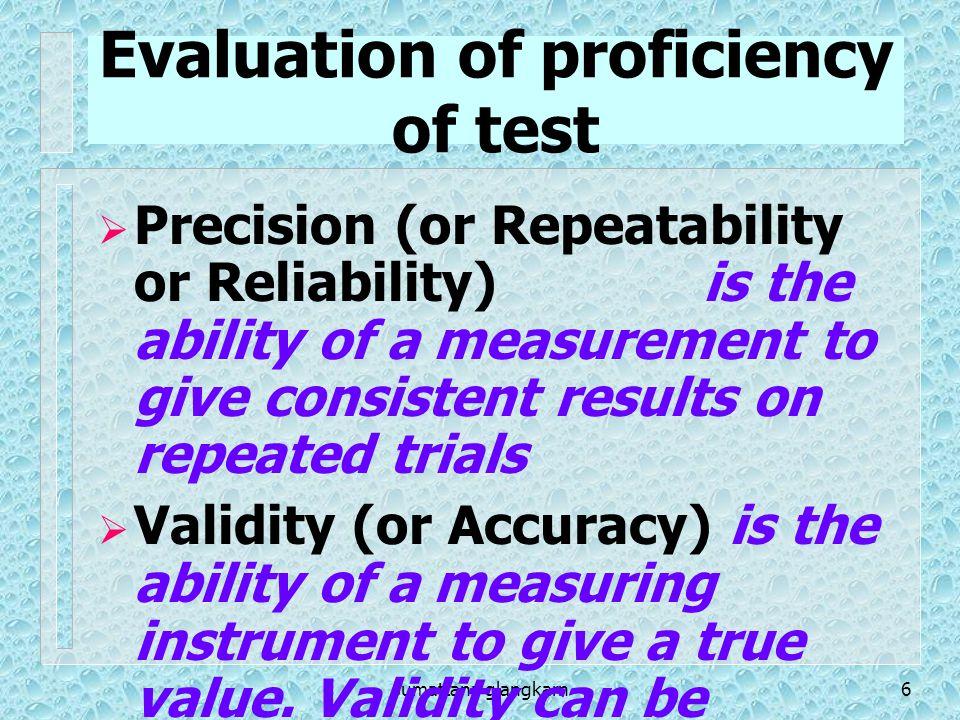 sumattana glangkarn27 Result of Analysis of a Screening test