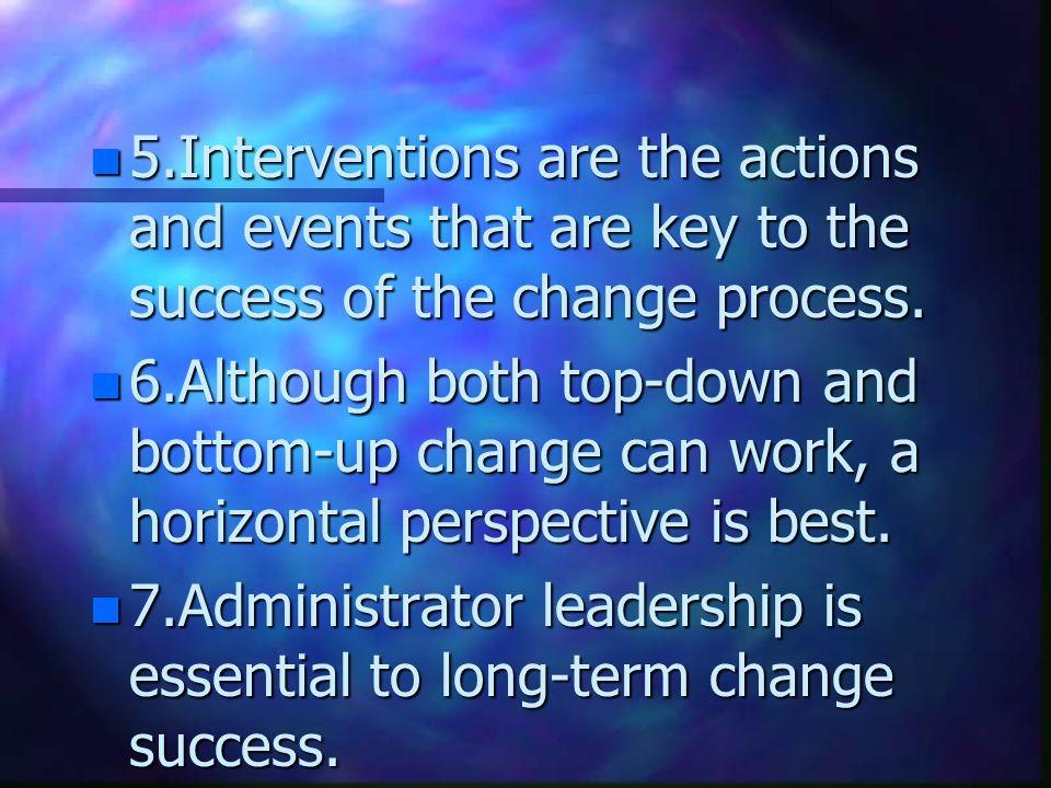 ปี 2001 Hall ได้เสนอหลักการของ การเปลี่ยนแปลง (Principles of Change) 12 ข้อ 1.