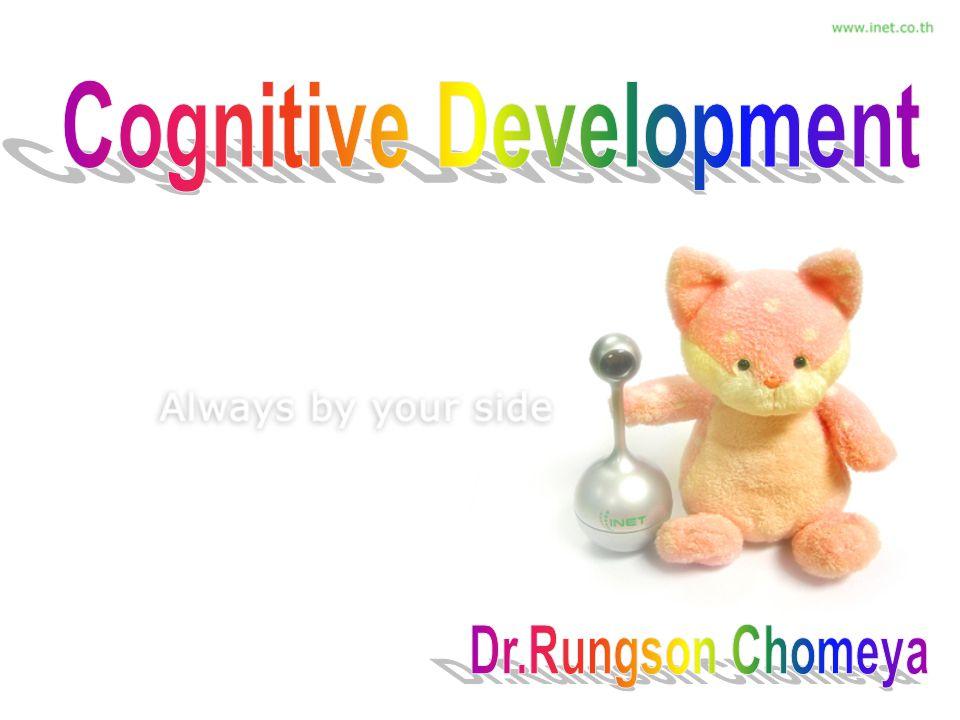พัฒนาการทางปัญญา : การ เปลี่ยนแปลง การคิด การเรียนรู้ ความจำ การแก้ปัญหา พัฒนาการทางปัญญา : การ เปลี่ยนแปลง การคิด การเรียนรู้ ความจำ การแก้ปัญหา เด็กแต่ละวัยจะมีขั้นของการ พัฒนาที่แตกต่างกัน เด็กแต่ละวัยจะมีขั้นของการ พัฒนาที่แตกต่างกัน Jean Piaget (1896) นักวิทย์ นักปรัชญา จิตวิทยา ฯลฯ Jean Piaget (1896) นักวิทย์ นักปรัชญา จิตวิทยา ฯลฯ สนใจศึกษาพฤติกรรมเด็ก สังเกตจากบุตร 3 คน สนใจศึกษาพฤติกรรมเด็ก สังเกตจากบุตร 3 คน จุดอ่อนของ ทบ.