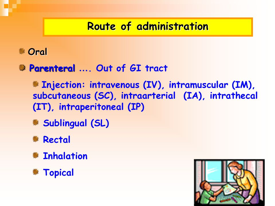 Drug absorption Site of administration Systemic circulation/ Plasma Site of action Absorption