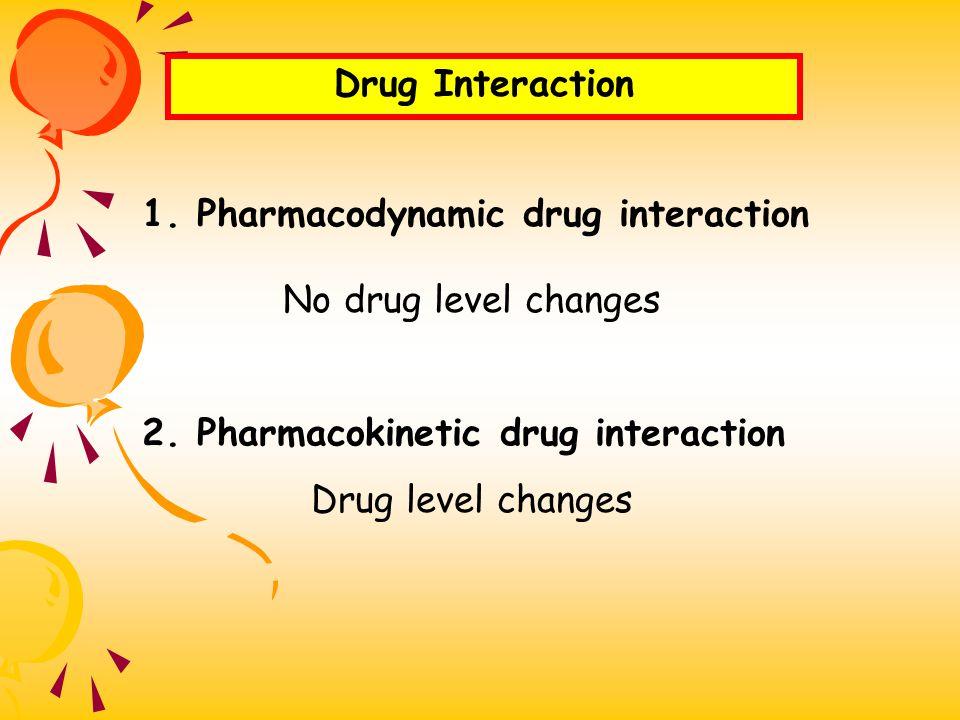 Drug Interaction ปฏิกิริยาระหว่างยา ( อันตรกิริยา ) ที่ทำ ให้ผล หรือฤทธิ์ทางเภสัชวิทยาของยาชนิด หนึ่งเปลี่ยนแปลงไป เมื่อได้รับยาอีกชนิด หนึ่งร่วมไปด้ว