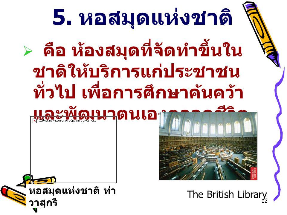 11 ห้องสมุดตลาดหลักทรัพย์แห่งประเทศไทย ห้องสมุดธนาคารไทยพาณิชย์