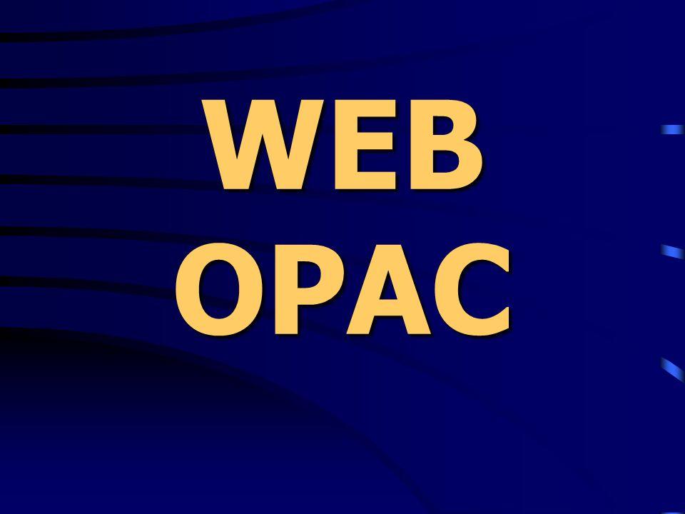 WEB OPAC