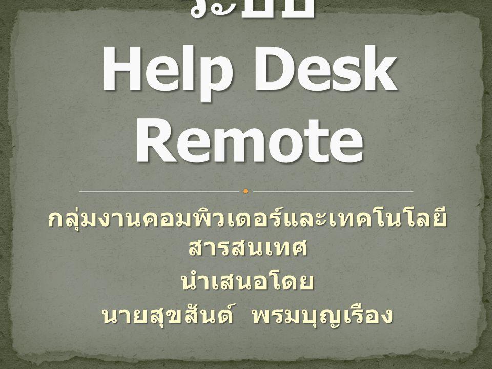 กลุ่มงานคอมพิวเตอร์และเทคโนโลยี สารสนเทศ นำเสนอโดย นายสุขสันต์ พรมบุญเรือง