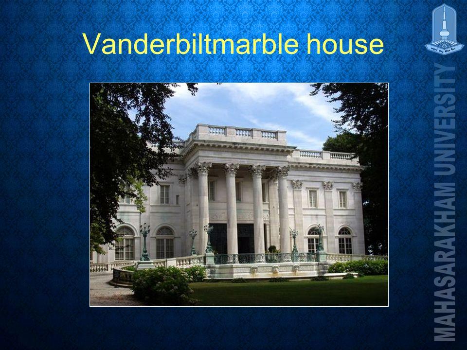Vanderbiltmarble house