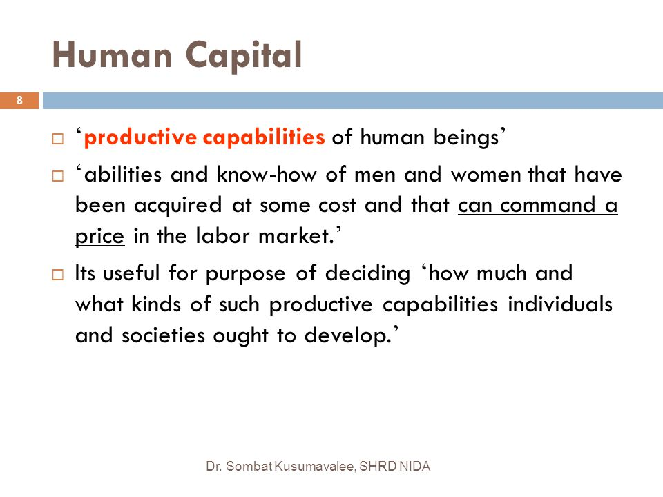 SOPHISTICATED HUMAN RELATIONS  Employees (excluding short-term contract or subcontract labor) are viewed as the company's most valuable resource.