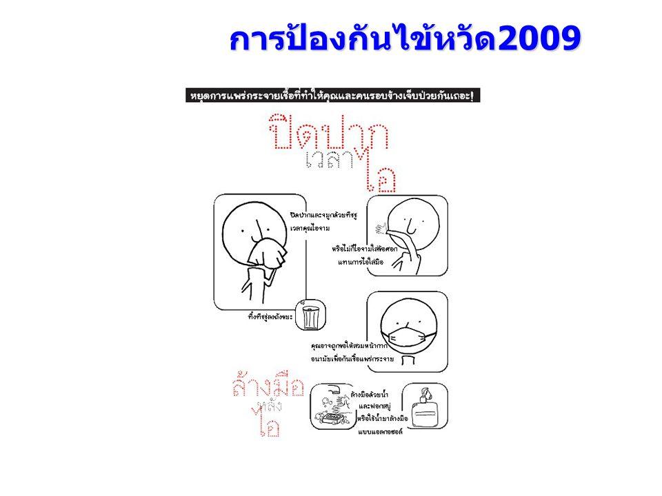 การป้องกันไข้หวัด 2009
