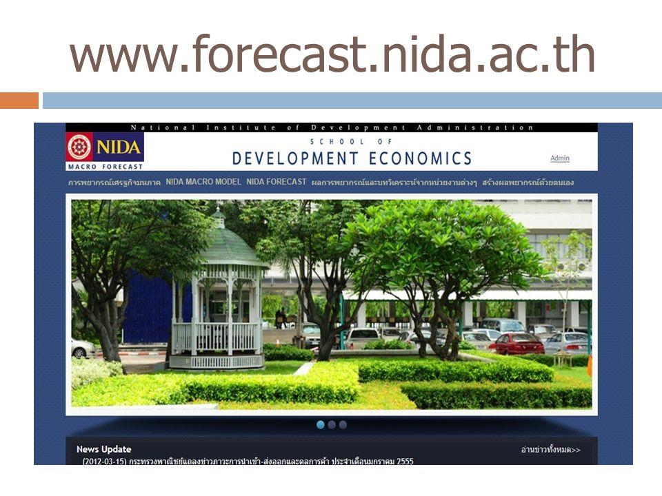 www.forecast.nida.ac.th 8