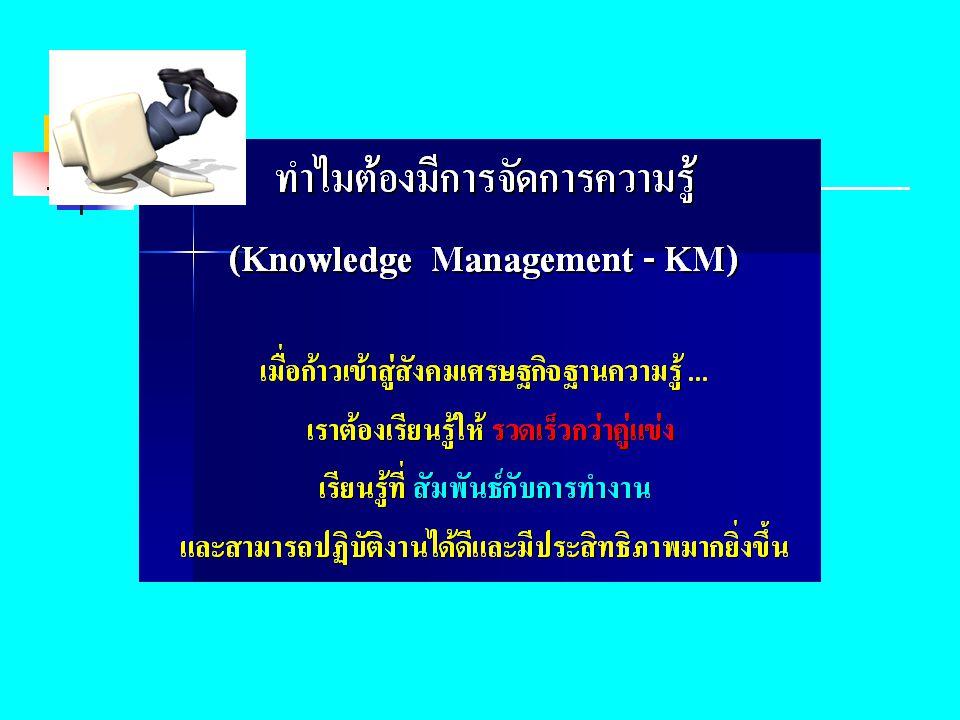 กรอบแนวคิดการจัดการความรู้ ตัวอย่างแผนผังอิชิคะวะ แผนผังอิชิคะวะ (Ishikawa diagram) หรือ แผงผังก้างปลา ส่วนหัวและตา (Knowledge Vision - KV) ส่วนกลางลำตัว (Knowledge Sharing - KS) ส่วนหาง (Knowledge Assets - KA)