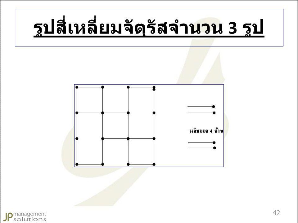 รูปสี่เหลี่ยมจัตุรัสจำนวน 3 รูป 42