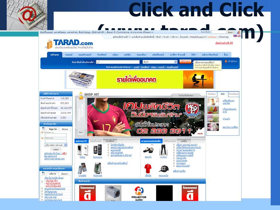 Company LOGO Click and Click (www.tarad.com)