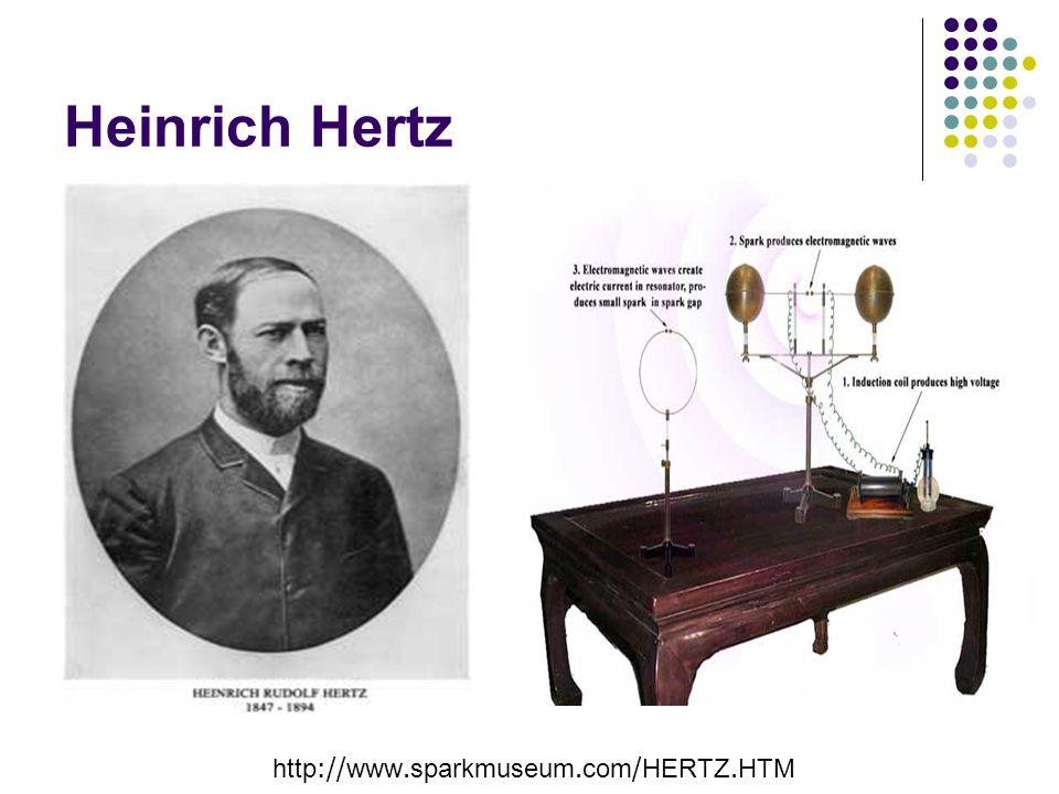 Heinrich Hertz http://www.sparkmuseum.com/HERTZ.HTM