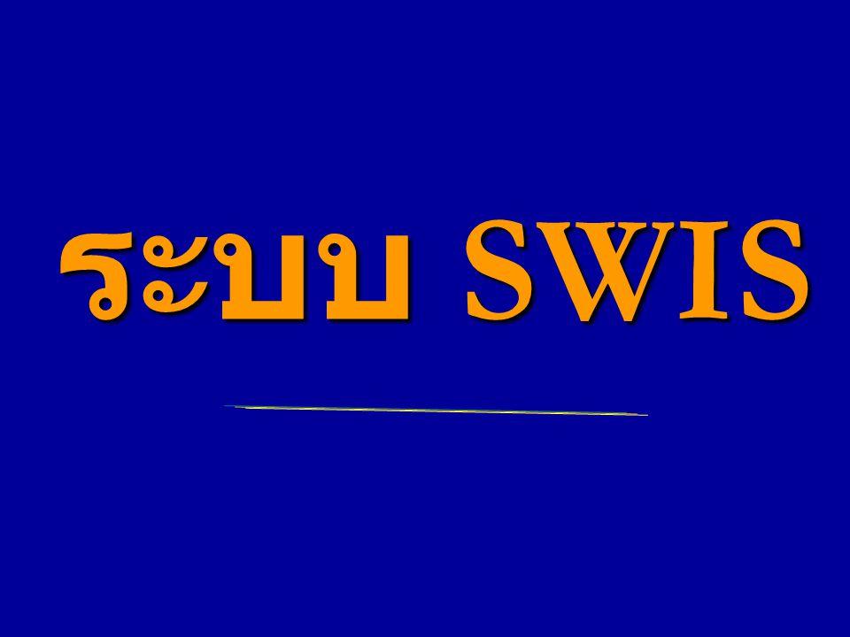 ระบบ SWIS ระบบ SWIS
