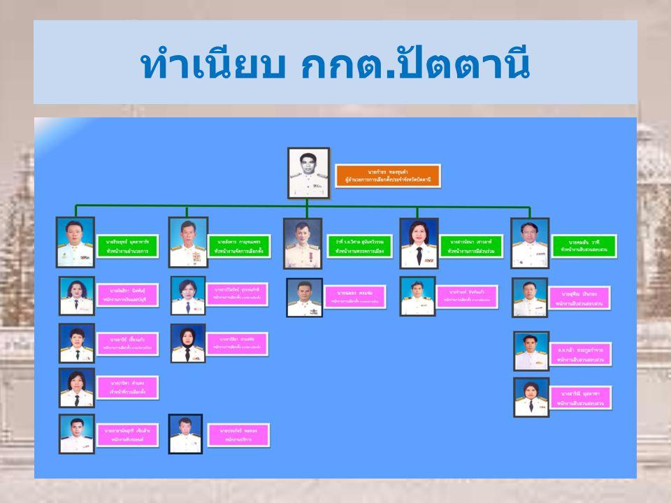 รับผิดชอบในตำแหน่งงาน งานการเลือกตั้ง งานการมีส่วนร่วม งาน บริการ และงานพรรคการเมือง