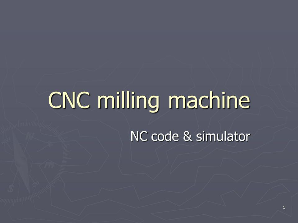CNC milling machine NC code & simulator 1
