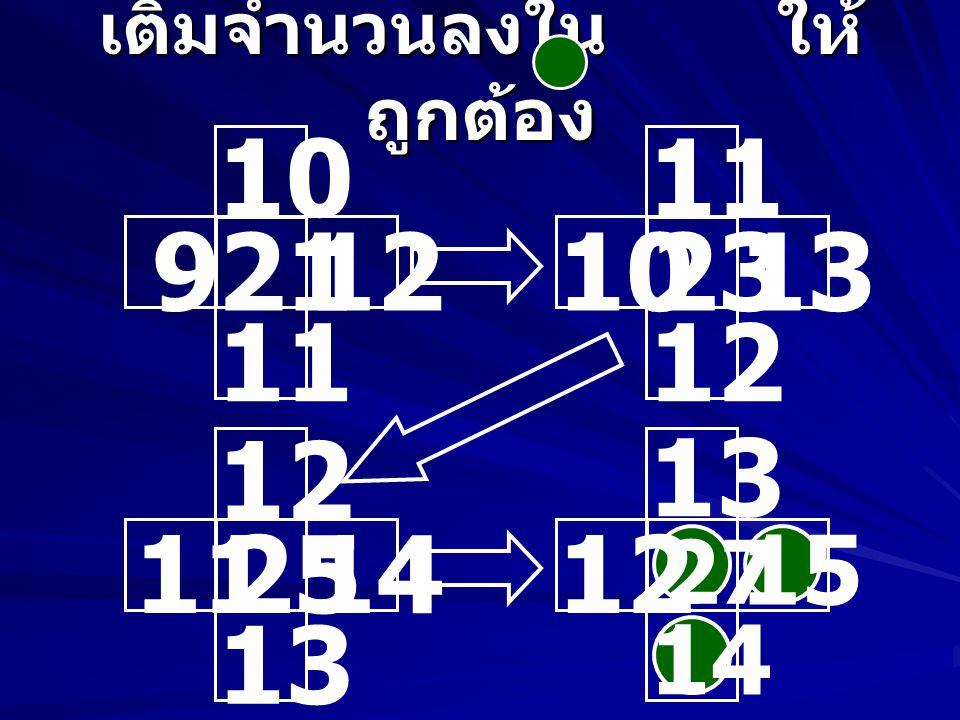 เติมจำนวนลงใน ให้ ถูกต้อง 2 14 2 4 6 336 6 12 4 216 4 8 8 4 8 64