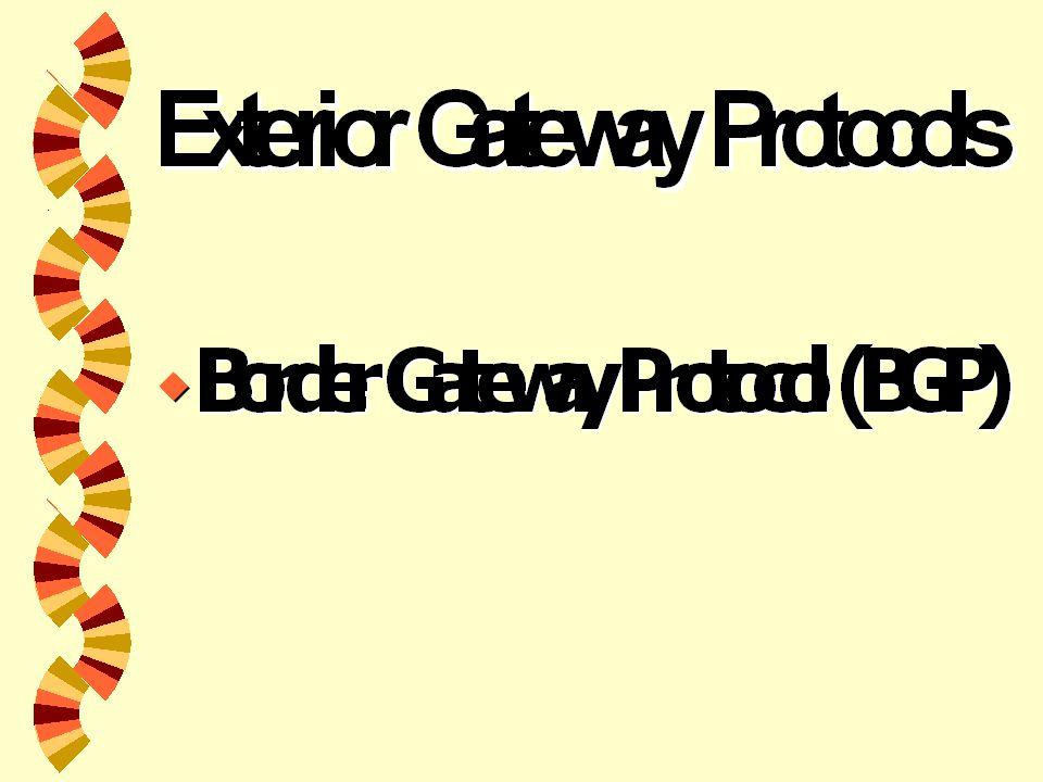 Internet Gateway Routing Protocol(IGRP)   สร้าง IGRP เพื่อเป็น protocol ที่มี ความมั่นคงพอสำหรับ routing ที่ใช้ ในระบบอัตโนมัติ (Autonomous system(AS))   ใช้ IGRP เป็นเครื่องมือการทำงานใน Internet Protocol (IP) networks   IGRP ใช้การรวม (vector) ของ metrics Internetwork delay, bandwidth, reliability และ load เป็นปัจจัยทั้งหมดในการตัดสินใจ ของ routing