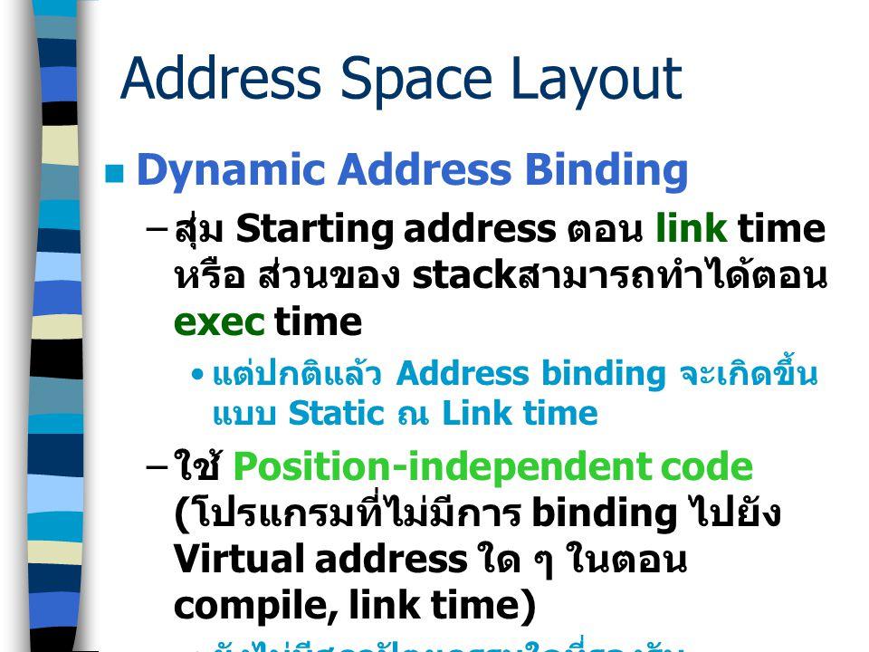 Text Stack Data Cache Address Space A 0x0 0xfff 0x80006000 0x800006fff 0xfffff000 0xffffffff Text Stack Data Address Space B 0x0 0xfff 0x80006000 0x80