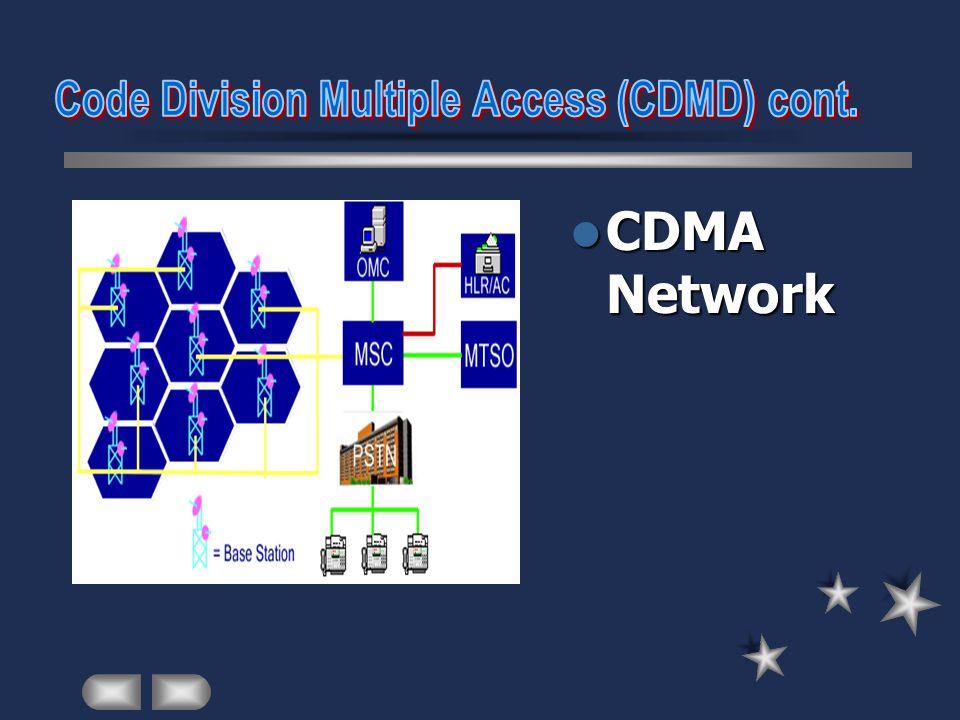 Downlink / Forward Link Forward pilot channel Forward synchronization channel Forward paging channel Forward traffic channel