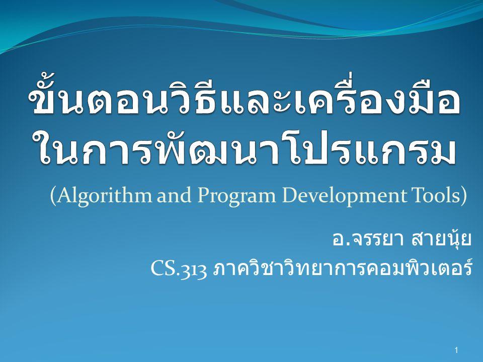 Notion of Algorithm 2 problem algorithm input output Program or Software
