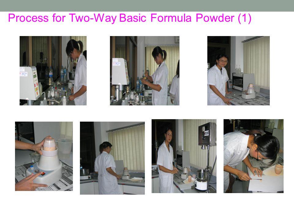Process for Two-Way Basic Formula Powder (1)
