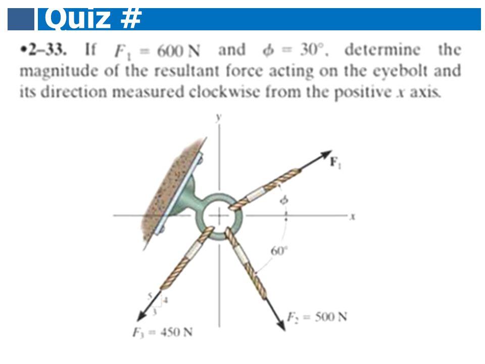 Quiz # 1.2 1.1