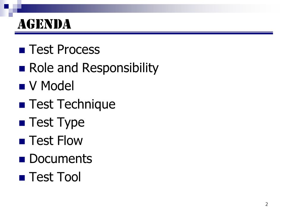 43 Documents (cont) Environment Set up Test Check list ตัวอย่าง Environment Set up Test Check list