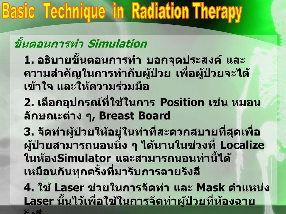 ขั้นตอนการทำ Simulation 1.