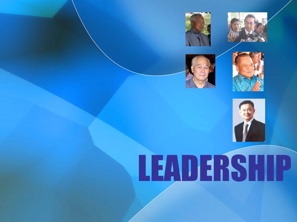 ความหมายของผู้นำ ผู้นำคือ บุคคลที่มีบทบาท หรือิทธิพลต่อบุคคลใน หน่วยงานมากกว่าบุคคล อื่น ผู้นำคือ บุคคลที่มีบทบาท เหนือคนอื่น