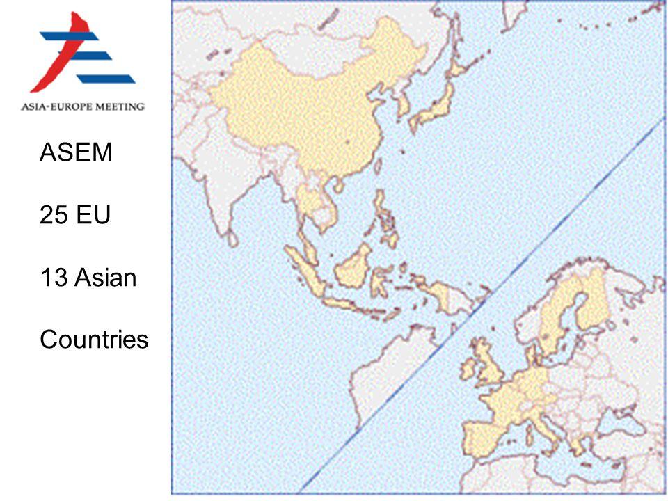 ASEM 25 EU 13 Asian Countries